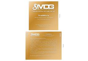 CD / DVD label sjabloon door MDG