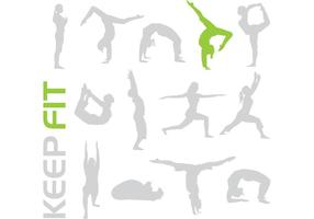 Free Keep Fit Vectors – Give Your Designs a Workout!