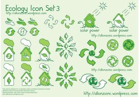 Ecologie Icon Set 3