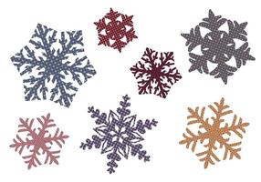Quilted Snowflakes