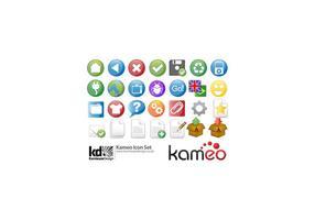 Conjunto de ícones do Kameo