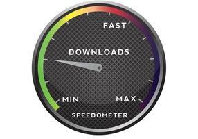 Free-vector-speedometer