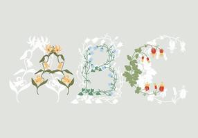 Blumen ABC