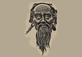 Wise-old-man-vector