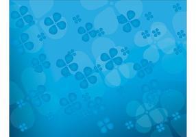 Floral blau Vektor Hintergrund