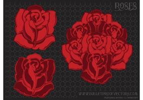 Blume Vektor Rosen