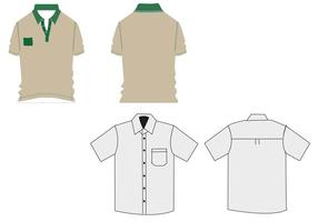 T-shirt Work uniforms