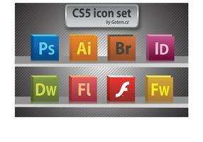 Libre paquete de iconos de CS5