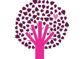 Árbol libre con corazón