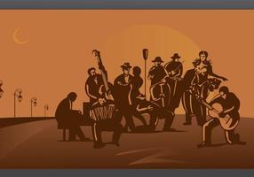 Tango-orchestra-vector