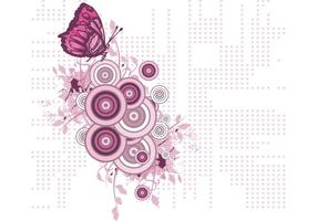 Gratis Butterfly Vector Illustration