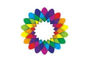 Geometrische Blume