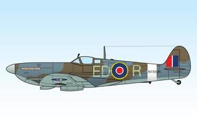 Supermarine-spitfire-mkiii-vector