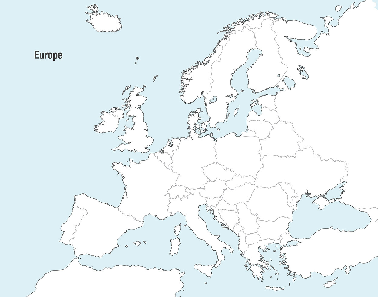 Picture of: Vector Maps Of Europe Download Free Vectors Clipart Graphics Vector Art
