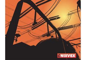 "NixVex ""Atomic Power Station"" Free Vector Image"