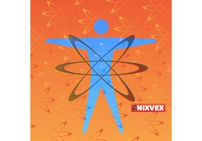 "NixVex NixVex ""Atomic Energy"" Free Vector Texture and Symbol"