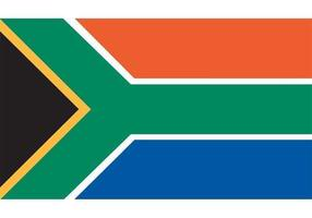 Zuid-Afrikaanse Vlag Vector