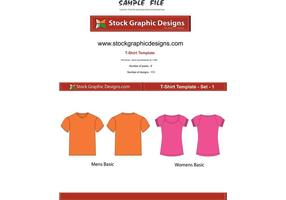 Vector-t-shirt-templates