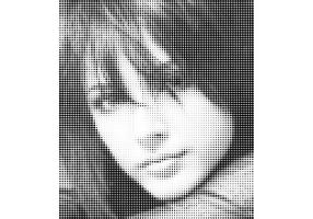 Halftone Face Vectors