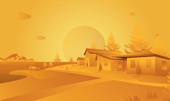 Orange Landscape