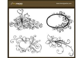 Ornamento Vector Free Drawn Vector