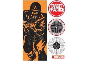 """NixVex """"Target Practice"""" Free Vector"""