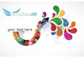 Background Vector Abstract Colorful Illustration