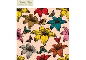 Free-flowers-and-butterflies-vector-seamless-pattern
