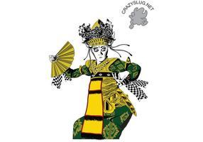 Balinesisk dansare