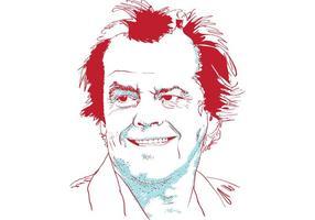 Porträtt av Jack Nicholson