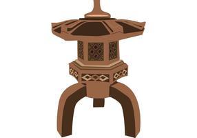 Pagoda-vector