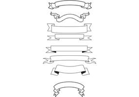 Banners genéricos de vectores