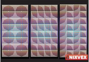 """NixVex """"OpArt Tiles"""" Gratis Vector"""