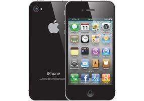 Vector libre del iPhone 4