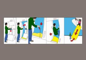 Vector-airline-safety-sheet