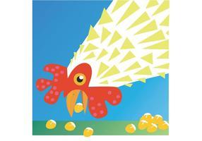 Kostenloses Huhn Vektor