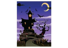 Gratis Spooky House Halloween
