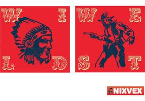 "NixVex ""Wild West"" Gratis Vector"