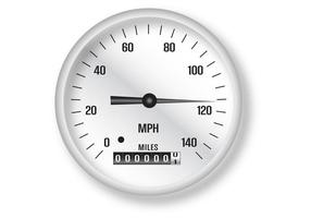 Klassieke snelheidsmeter