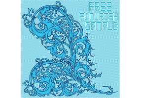 Free-flourish-sample-vector