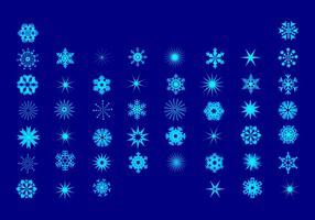 Flocons de neige de Noël