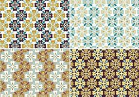 Autumn Flower Patterns & Wallpapers vector