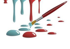 Gouttes de peinture