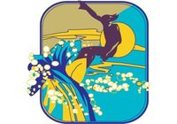 Vector-surfer-dude-on-wave-with-sun