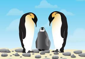 Penguins-in-love-vector