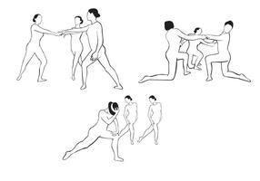 Klassiska dansfigurer