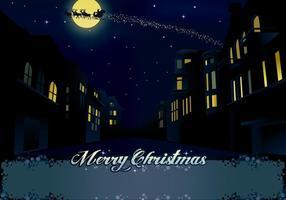 Weihnachtsnacht in der Stadt