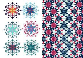 Festive-floral-vector-illustrator-pattern-pack