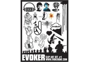 Evoker Clip Art Set 1