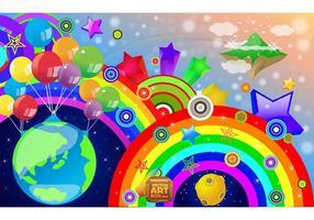 Regenboog Vector